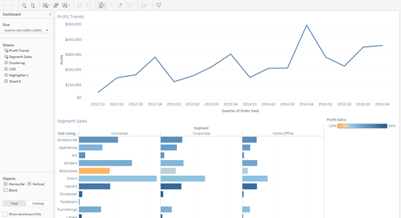 Web Authoring in Tableau 10