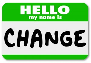 My Name is Change - name tag